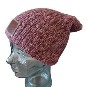 LOVE YOUR MELON Speckled Beanie Hat Knit
